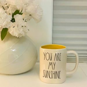 RAE DUNN YOU ARE MY SUNSHINE MUG